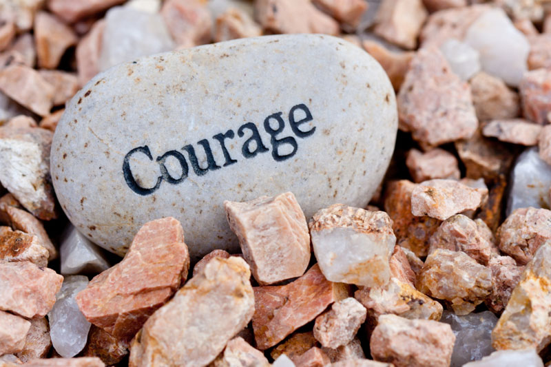 6 SECONDS OF COURAGE